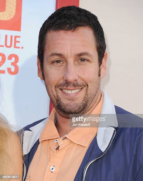 Actor Adam Sandler arrives at the Los Angeles Premiere 'Blended' at TCL Chinese Theatre on May 21 2014 in Hollywood California