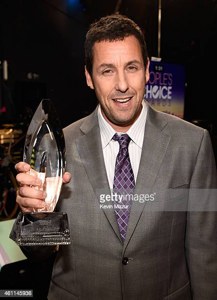 Actor Adam Sandler attends The 41st Annual People's Choice Awards at Nokia Theatre LA Live on January 7 2015 in Los Angeles California