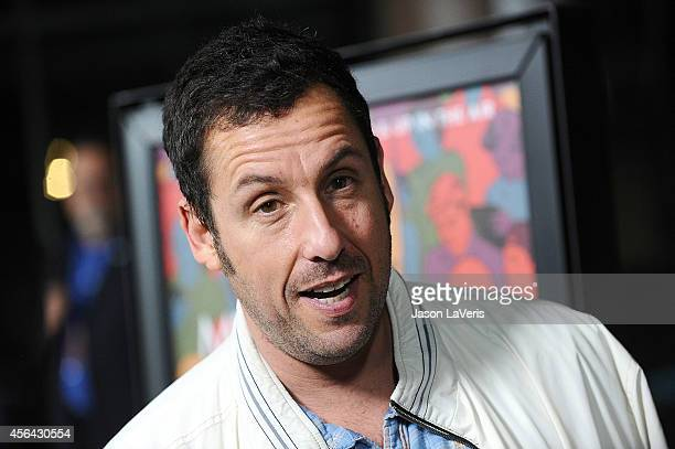 Actor Adam Sandler attends the premiere of 'Men Women and Children' at DGA Theater on September 30 2014 in Los Angeles California
