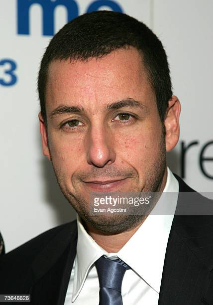 Actor Adam Sandler attends the 'Reign Over Me' premiere at the Skirball Center for the Performing Arts at New York University March 20 2007 in New...