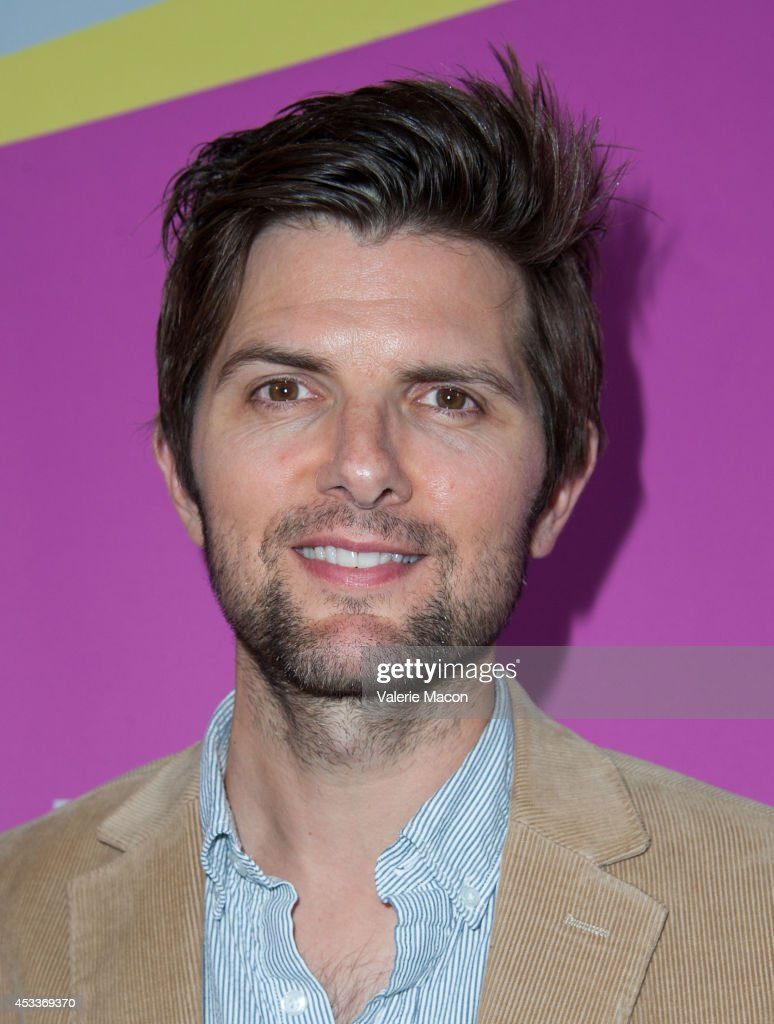 Actor Adam Scott arrives at Sundance NextFest Film Festival Premiere Of 'Life After Beth' at The Theatre At The Ace Hotel on August 8, 2014 in Los Angeles, California.
