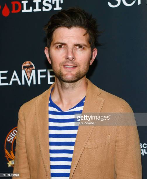 Actor Adam Scott attends the 2017 Screamfest Horror Film Festival at TCL Chinese 6 Theatres on October 15 2017 in Hollywood California