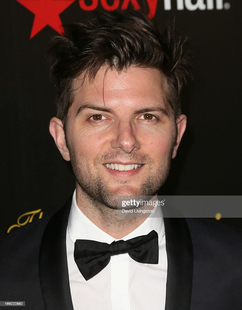 Actor Adam Scott attends the 38th Annual Gracie Awards Gala at The Beverly Hilton Hotel on May 21, 2013 in Beverly Hills, California.