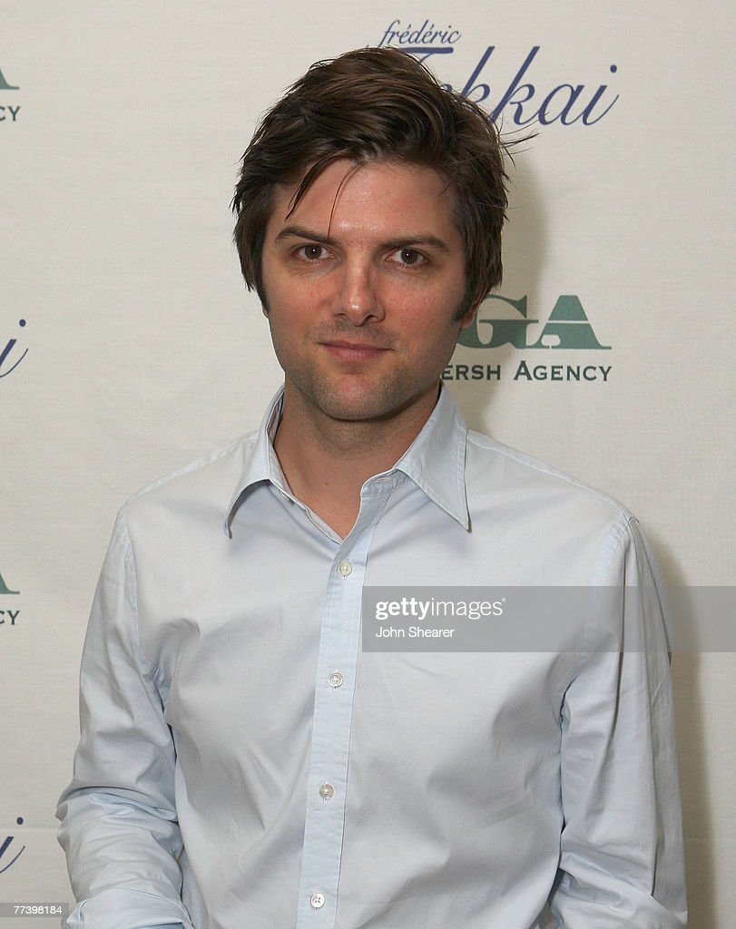 Actor Adam Scott attends The Gersh Agency EMMY Party w/Special Guest Frederic Fekkai held at The Terrace at Sunset Tower Hotel on September 14, 2007 in LosAngeles, California.