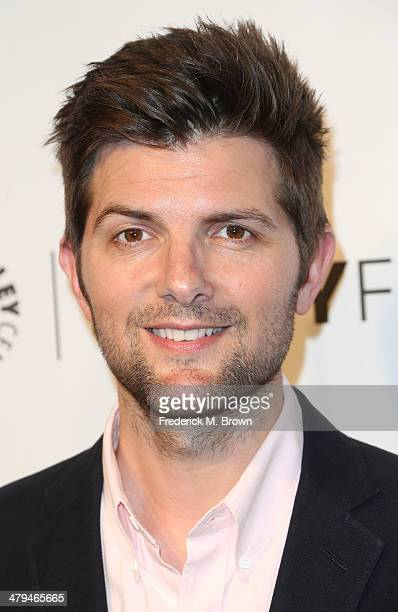 Actor Adam Scott attends The Paley Center for Media's PaleyFest 2014 Honoring 'Parks and Recreation' at the Dolby Theatre on March 18 2014 in...