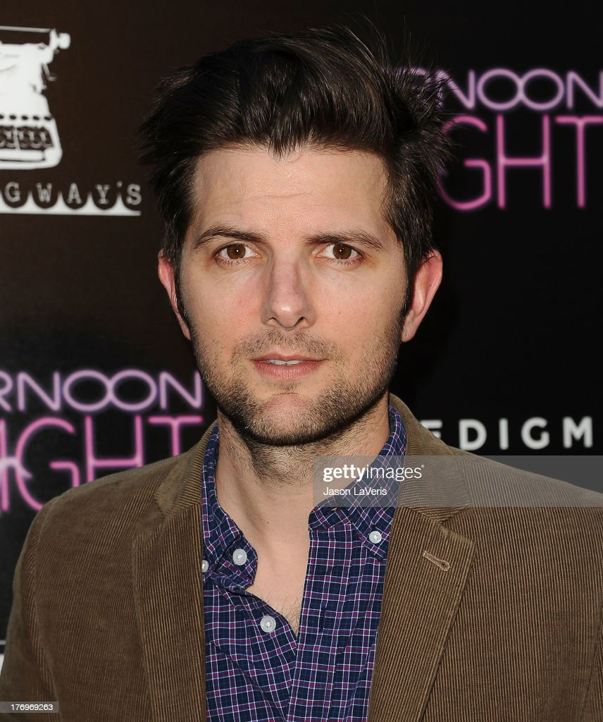 Actor Adam Scott attends the premiere of 'Afternoon Delight' at ArcLight Hollywood on August 19, 2013 in Hollywood, California.