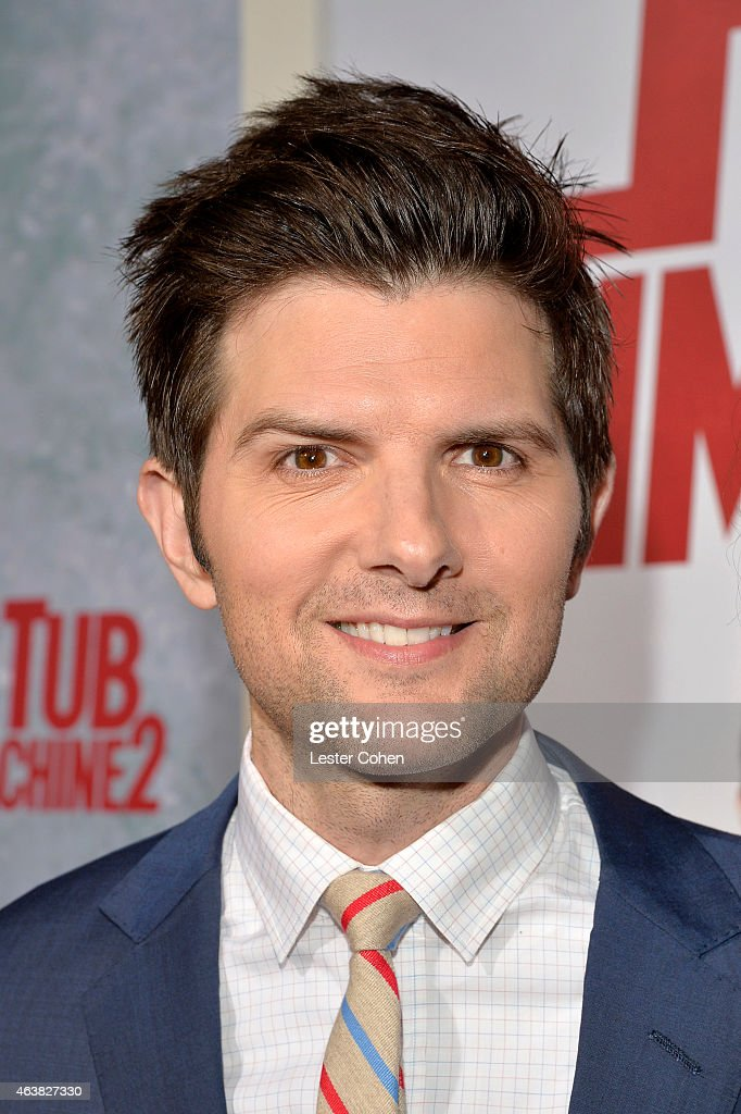 Actor <a gi-track='captionPersonalityLinkClicked' href=/galleries/search?phrase=Adam+Scott+-+Actor&family=editorial&specificpeople=7401387 ng-click='$event.stopPropagation()'>Adam Scott</a> attends the premiere of Paramount Pictures' 'Hot Tub Time Machine 2' at Regency Village Theatre on February 18, 2015 in Westwood, California.