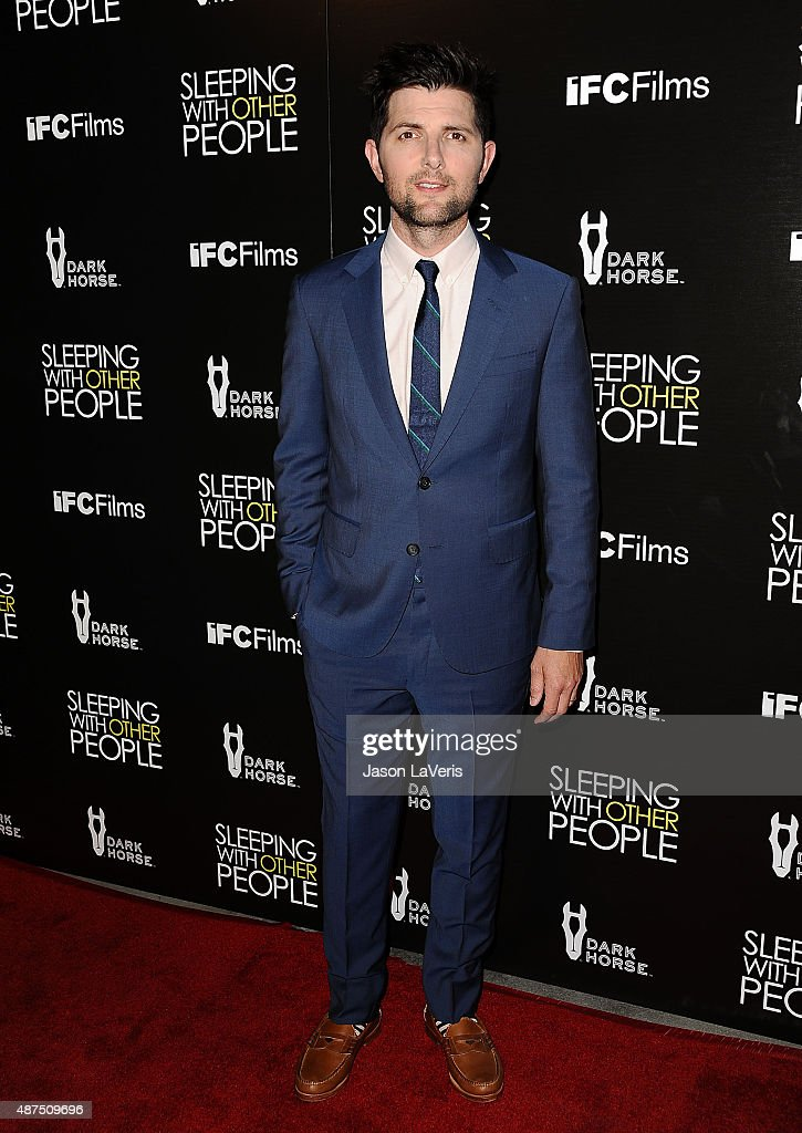 Actor <a gi-track='captionPersonalityLinkClicked' href=/galleries/search?phrase=Adam+Scott+-+Actor&family=editorial&specificpeople=7401387 ng-click='$event.stopPropagation()'>Adam Scott</a> attends the premiere of 'Sleeping With Other People' at ArcLight Cinemas on September 9, 2015 in Hollywood, California.