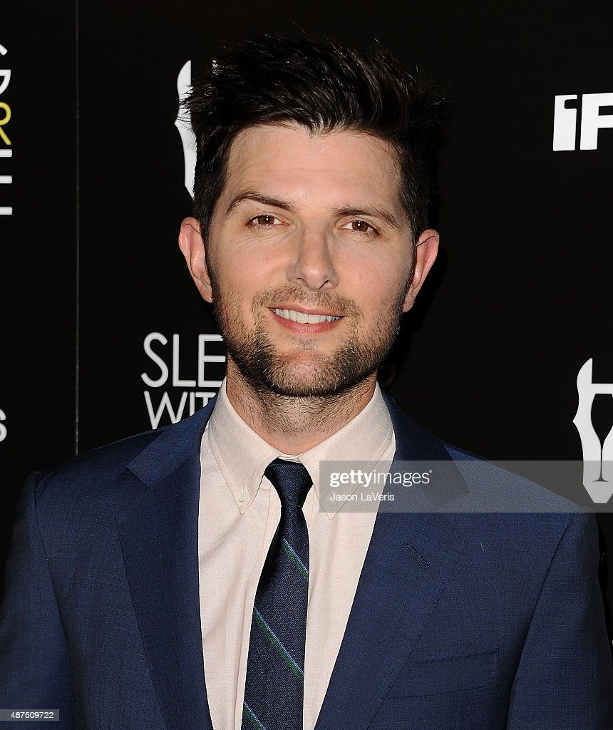 Actor Adam Scott attends the premiere of 'Sleeping With Other People' at ArcLight Cinemas on September 9, 2015 in Hollywood, California.