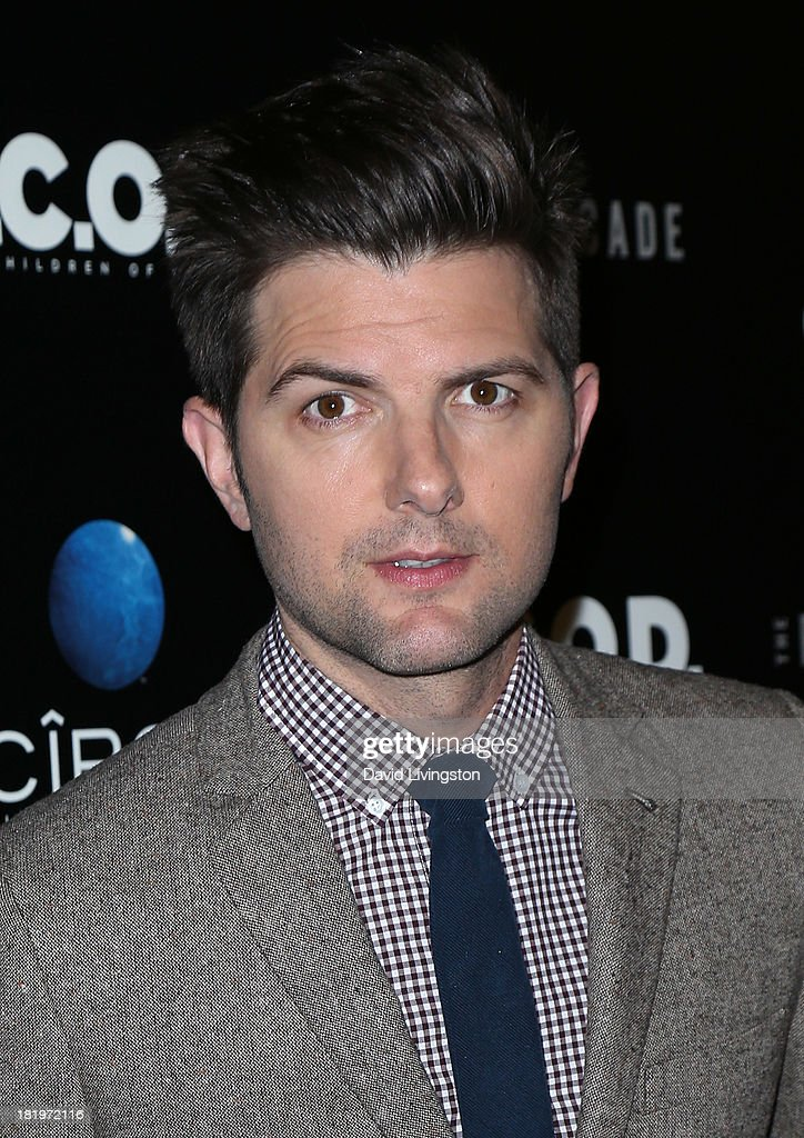 Actor Adam Scott attends the premiere of the Film Arcade's 'A.C.O.D.' at the Landmark Theater on September 26, 2013 in Los Angeles, California.