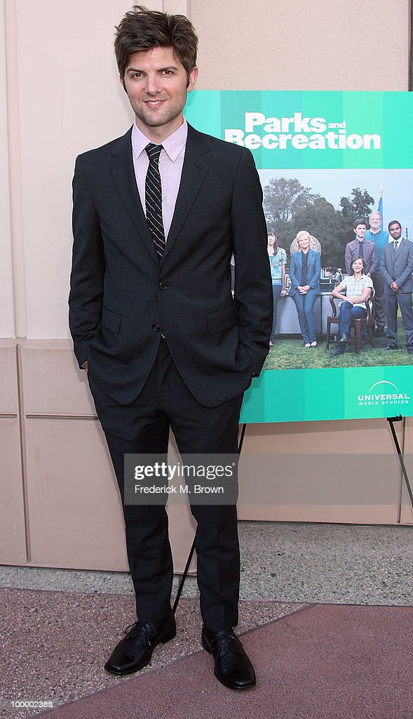 Actor Adam Scott attends the screening of 'Parks and Recreation' at the Leonard H. Goldenson Theatre on May 19, 2010 in North Hollywood, California.