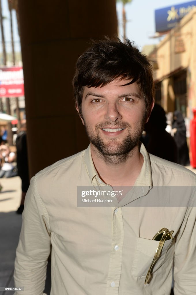 Actor Adam Scott attends the screening of 'Star Wars Return of the Jedi' during Entertainment Weekly CapeTown Film Festival Presented By The American...