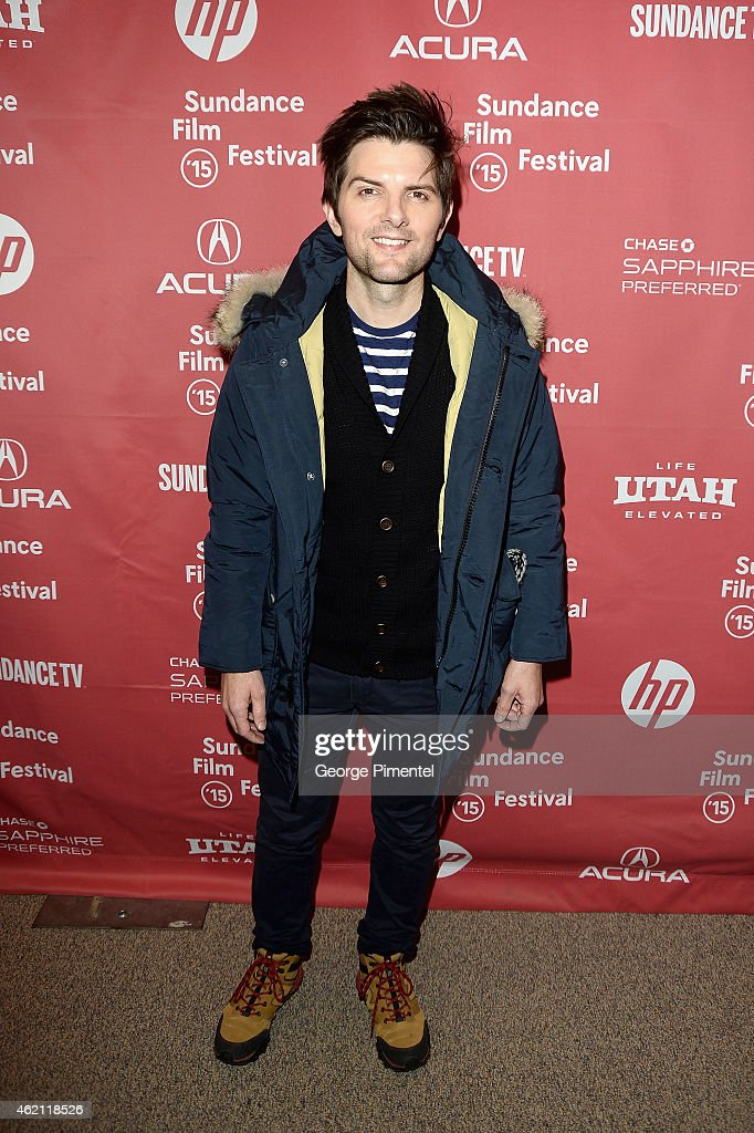 Actor <a gi-track='captionPersonalityLinkClicked' href=/galleries/search?phrase=Adam+Scott+-+Actor&family=editorial&specificpeople=7401387 ng-click='$event.stopPropagation()'>Adam Scott</a> attends the 'Sleeping With Other People' premiere during the 2015 Sundance Film Festival on January 24, 2015 in Park City, Utah.