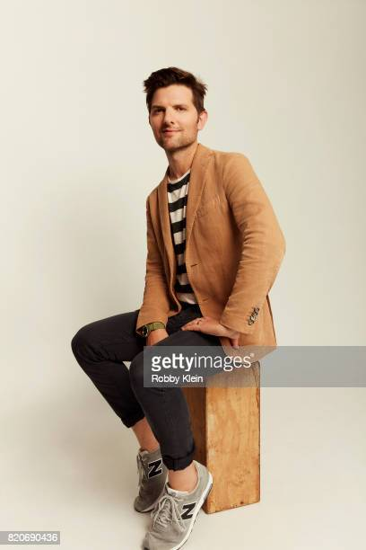 Actor Adam Scott of Fox's 'Ghosted' poses for a portrait during ComicCon 2017 at Hard Rock Hotel San Diego on July 20 2017 in San Diego California