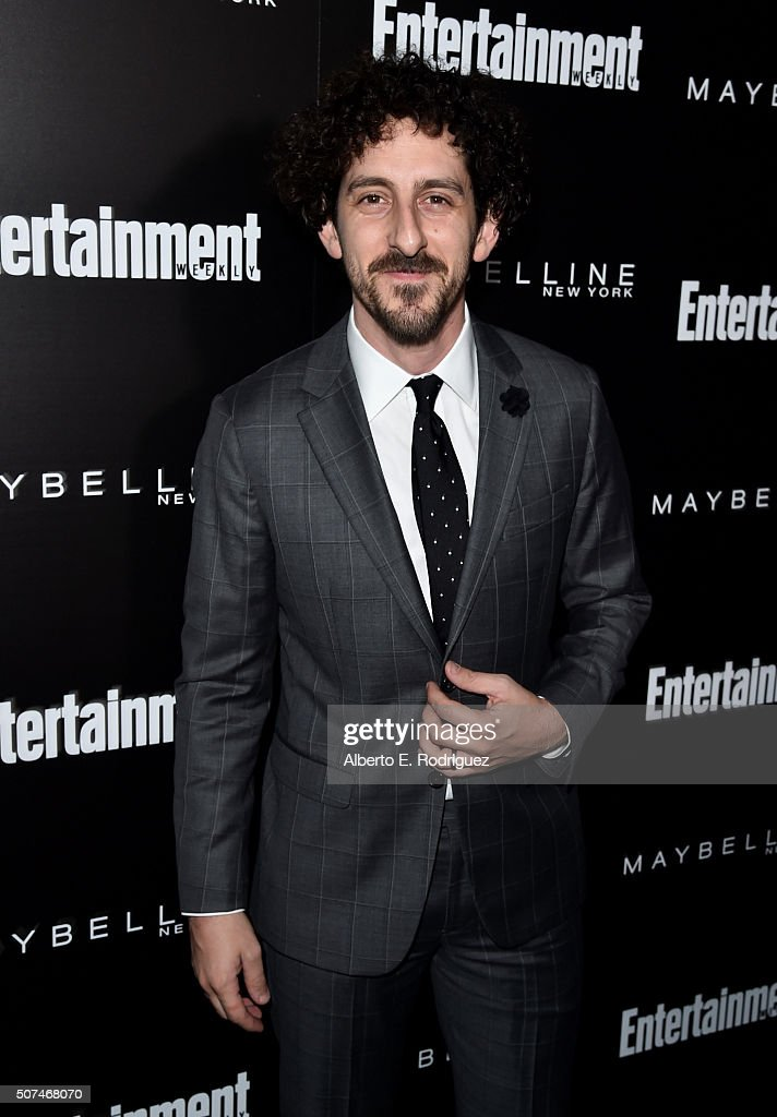Actor Adam Shapiro attends Entertainment Weekly Celebration Honoring The Screen Actors Guild Awards Nominees presented by Maybelline at Chateau Marmont In Los Angeles on January 29, 2016 in Los Angeles, California.