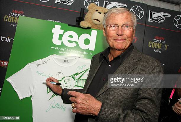 Actor Adam West arrives at Variety's 3rd annual Power of Comedy event presented by Bing benefiting the Noreen Fraser Foundation held at Avalon on...