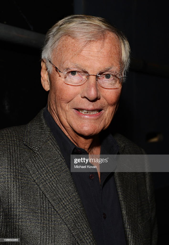 Actor <a gi-track='captionPersonalityLinkClicked' href=/galleries/search?phrase=Adam+West&family=editorial&specificpeople=235413 ng-click='$event.stopPropagation()'>Adam West</a> attends Variety's 3rd annual Power of Comedy event presented by Bing benefiting the Noreen Fraser Foundation held at Avalon on November 17, 2012 in Hollywood, California.