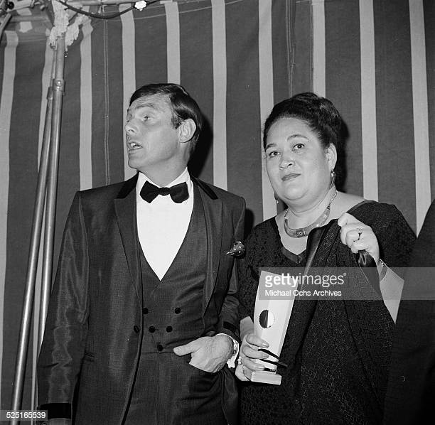Actor Adam West with guest attends an event in Los AngelesCA