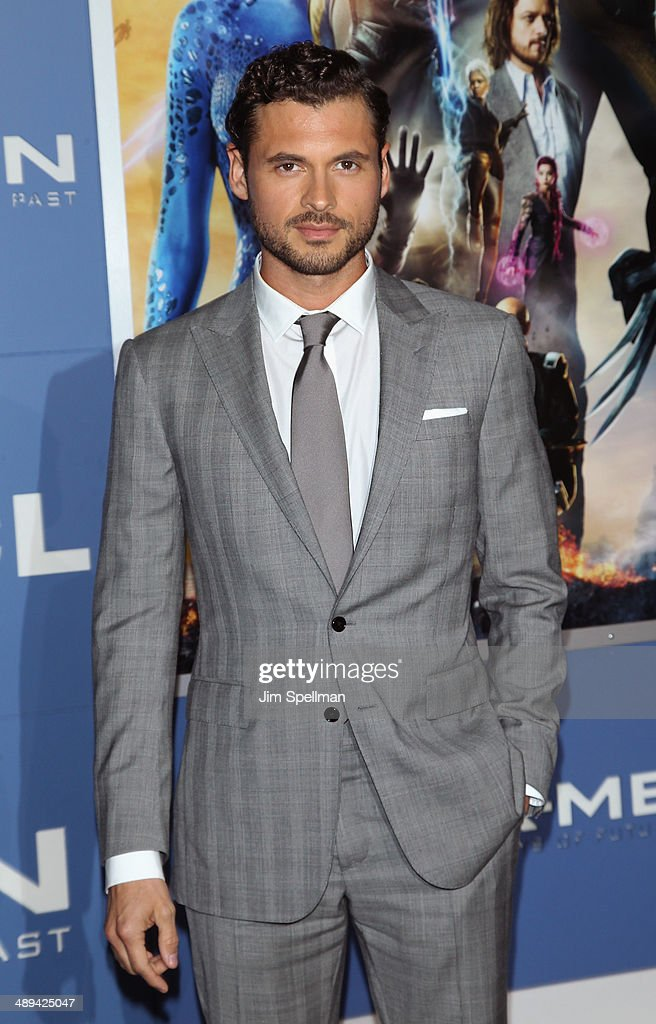 Actor Adan Canto attends the 'X-Men: Days Of Future Past' World Premiere - Outside Arrivals at Jacob Javits Center on May 10, 2014 in New York City.