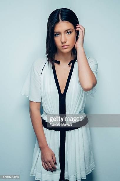 Actor Adele Exarchopoulos is photographed on May 15 2015 in Cannes France