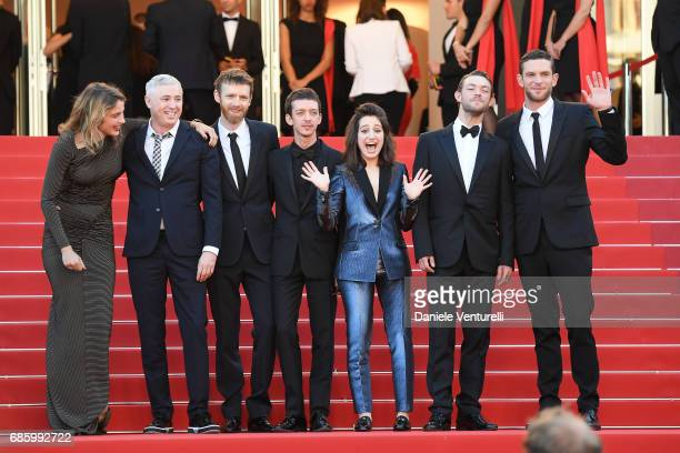 Actor Adele Haenel director Robin Campillo actors Antoine Reinartz Nahuel Perez Biscayart Aloise Sauvage Felix Maritaud and Arnaud Valois attend the...