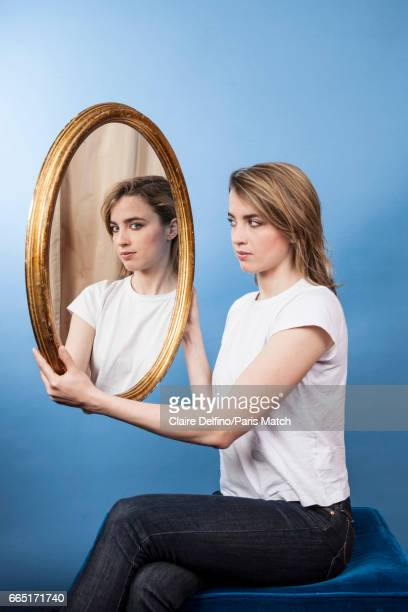 Actor Adele Haenel is photographed for Paris Match on March 22 2017 in Paris France