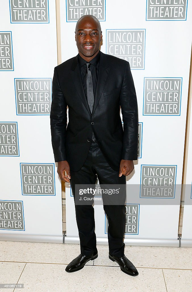 Actor Adewale Akinnuoye Agbaje attends the afterparty for the opening night of 'Shakespeare's Macbeth' at Avery Fisher Hall, Lincoln Center on November 21, 2013 in New York City.