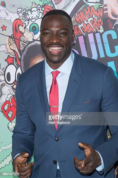 Actor Adewale AkinnuoyeAgbaje attends the 'Suicide Squad' World Premiere at The Beacon Theatre on August 1 2016 in New York City