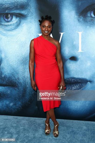 Actor Adina Porter attends the premiere of HBO's 'Game Of Thrones' season 7 at Walt Disney Concert Hall on July 12 2017 in Los Angeles California