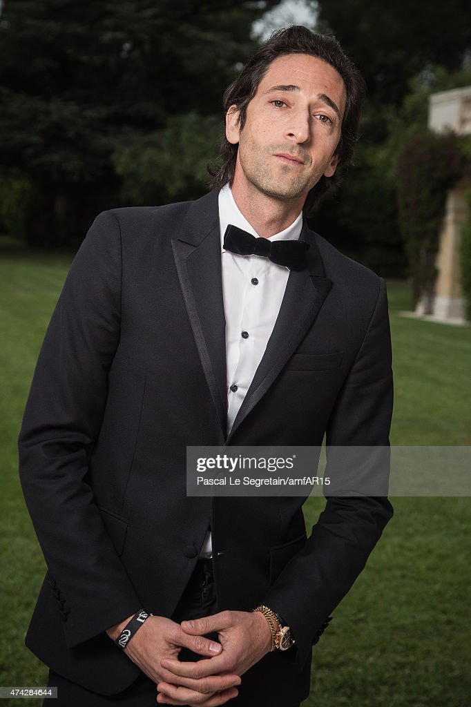 Actor Adrian Brody attends amfAR's 22nd Cinema Against AIDS Gala, Presented By Bold Films And Harry Winston at Hotel du Cap-Eden-Roc on May 21, 2015 in Cap d'Antibes, France.