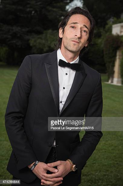 Actor Adrian Brody attends amfAR's 22nd Cinema Against AIDS Gala Presented By Bold Films And Harry Winston at Hotel du CapEdenRoc on May 21 2015 in...
