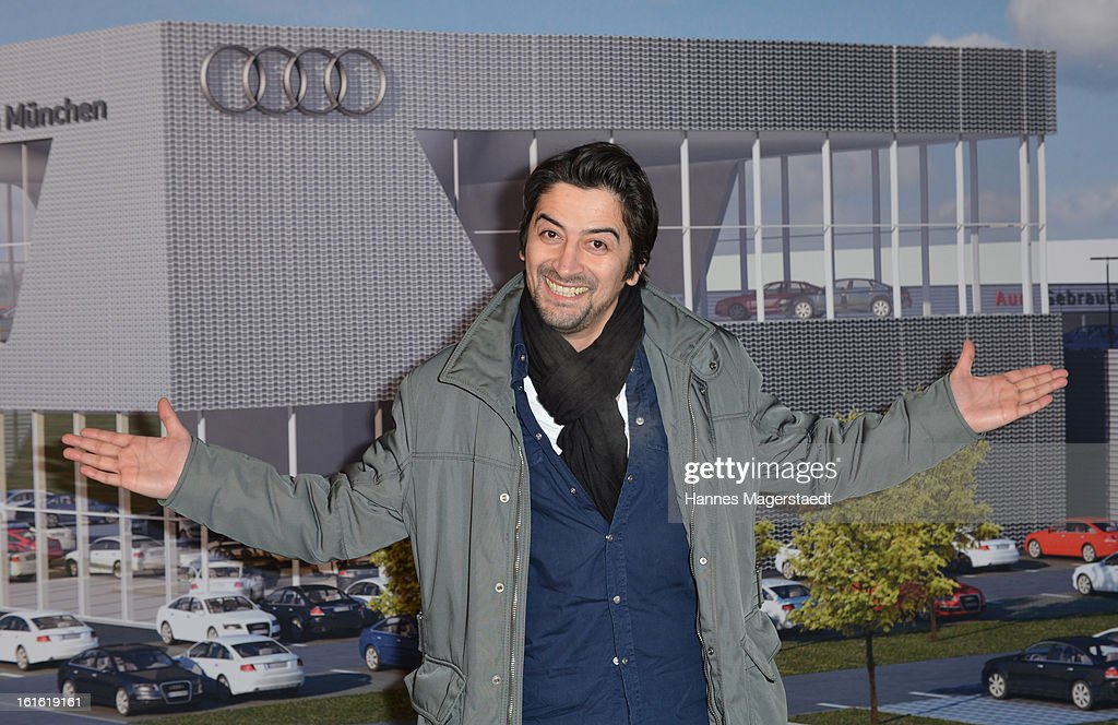 Actor Adrian Can attends the roofing ceremony at Audi second-hand car center on February 13, 2013 in Munich, Germany.