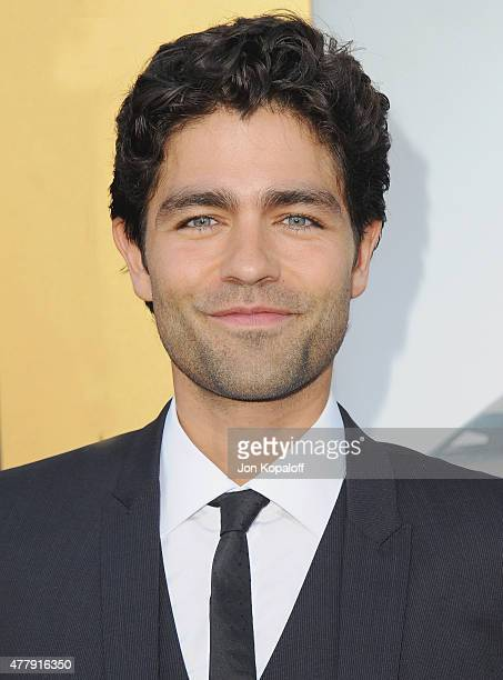 Actor Adrian Grenier arrives at the Los Angeles Premiere 'Entourage' at Regency Village Theatre on June 1 2015 in Westwood California
