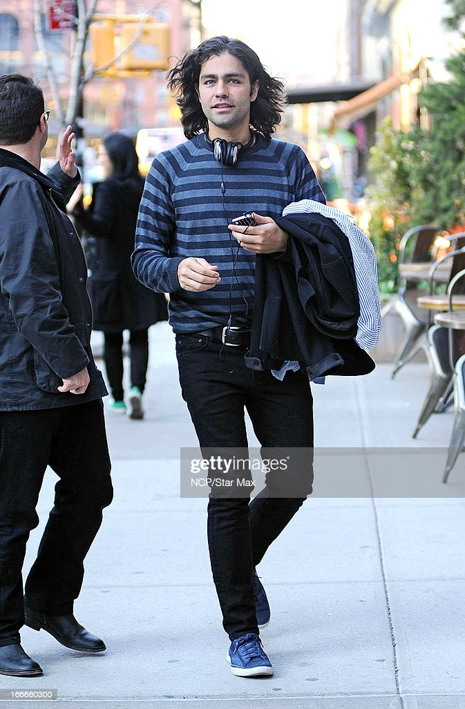 Actor Adrian Grenier as seen on April 15, 2013 in New York City.
