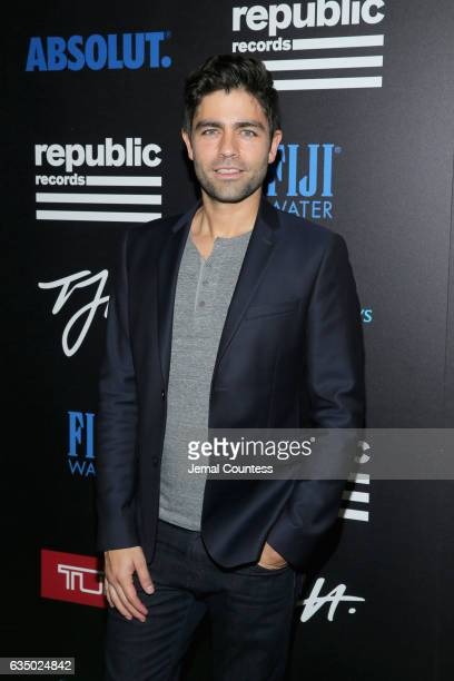 Actor Adrian Grenier at a celebration of music with Republic Records in partnership with Absolut and Pryma at Catch LA on February 12 2017 in West...