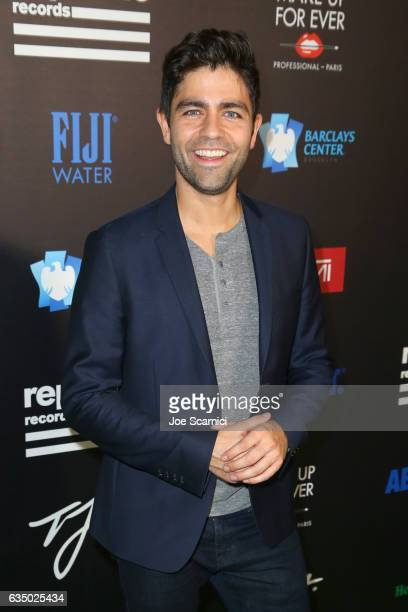 Actor Adrian Grenier at a celebration of music with Republic Records cosponsored by FIJI Water at Catch LA on February 12 2017 in West Hollywood...