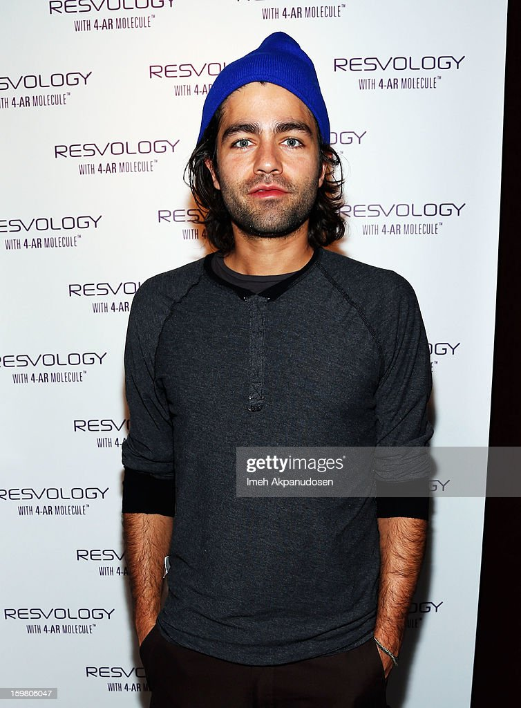Actor <a gi-track='captionPersonalityLinkClicked' href=/galleries/search?phrase=Adrian+Grenier&family=editorial&specificpeople=211413 ng-click='$event.stopPropagation()'>Adrian Grenier</a> attends Day 3 of the Kari Feinstein Style Lounge on January 20, 2013 in Park City, Utah.