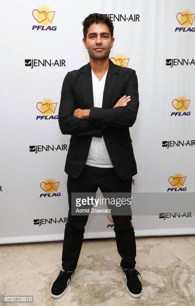 Actor Adrian Grenier attends HOT a Benefit for PFLAG national with host Adrian Grenier at JennAir Showroom on July 27 2017 in New York City