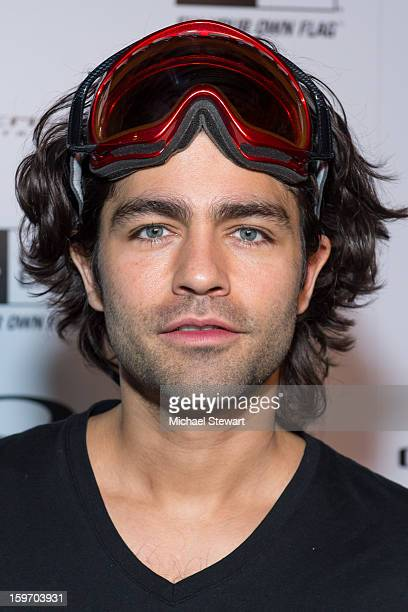 Actor Adrian Grenier attends Oakley Learn To Ride In Collaboration With New Era Day 1 2013 Park City on January 18 2013 in Park City Utah