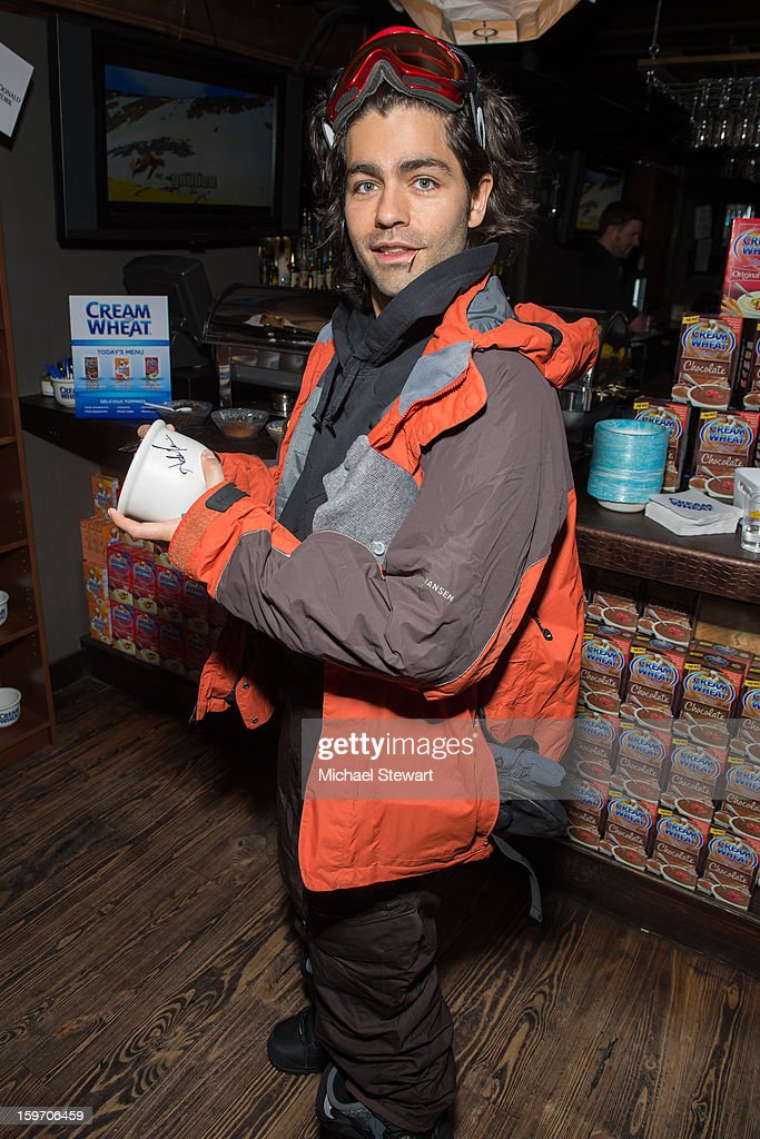 Actor <a gi-track='captionPersonalityLinkClicked' href=/galleries/search?phrase=Adrian+Grenier&family=editorial&specificpeople=211413 ng-click='$event.stopPropagation()'>Adrian Grenier</a> attends Oakley Learn To Ride In Collaboration With New Era - Day 1 - 2013 Park City on January 18, 2013 in Park City, Utah.