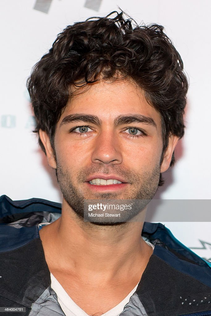 Actor <a gi-track='captionPersonalityLinkClicked' href=/galleries/search?phrase=Adrian+Grenier&family=editorial&specificpeople=211413 ng-click='$event.stopPropagation()'>Adrian Grenier</a> attends Oakley Learn To Ride With AOL At Sundance Day 3 on January 19, 2014 in Park City, Utah.