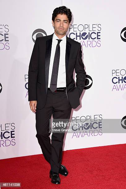Actor Adrian Grenier attends The 41st Annual People's Choice Awards at Nokia Theatre LA Live on January 7 2015 in Los Angeles California
