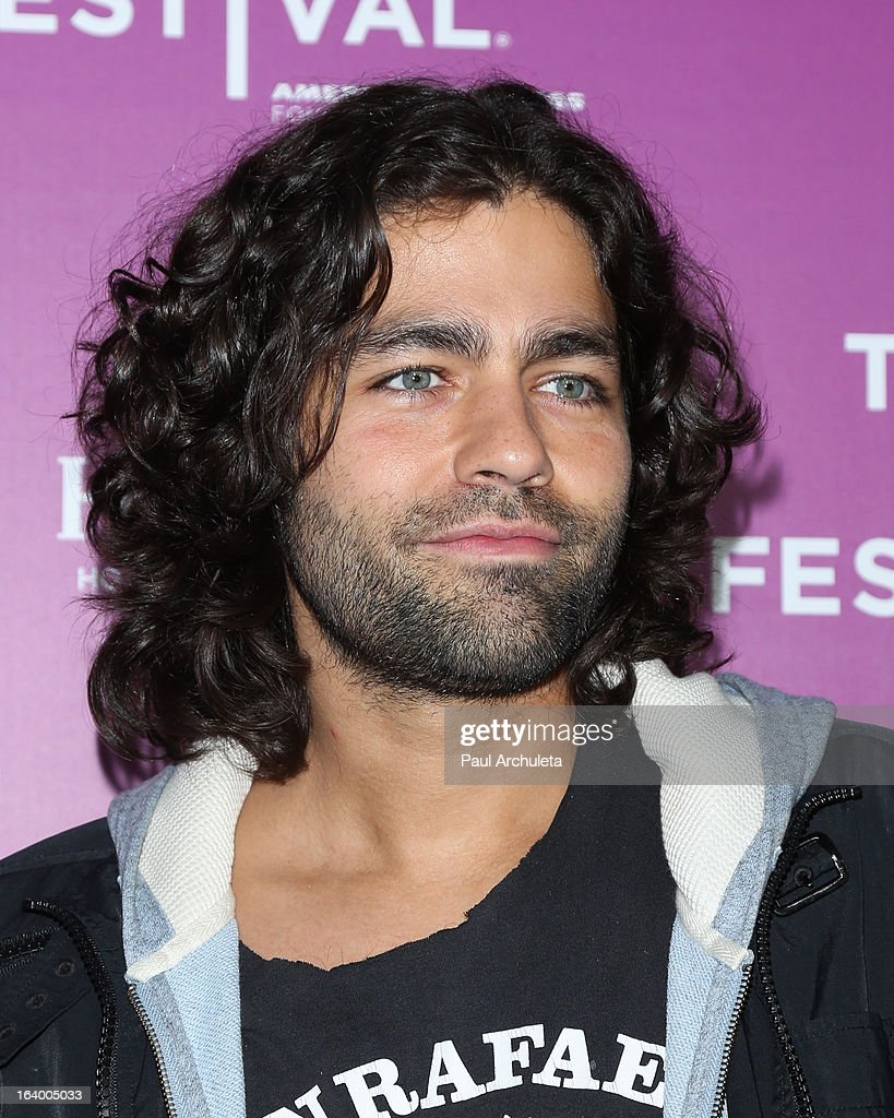 Actor Adrian Grenier attends the 5th annual Tribeca Film Festival 2013 LA reception at The Beverly Hilton Hotel on March 18, 2013 in Beverly Hills, California.