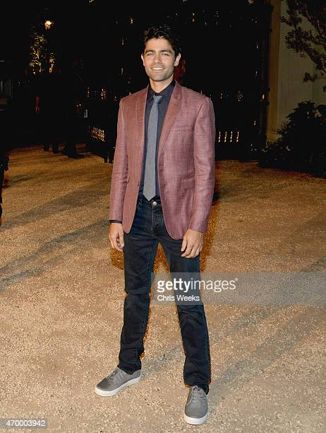 Actor Adrian Grenier attends the Burberry 'London in Los Angeles' event at Griffith Observatory on April 16 2015 in Los Angeles California
