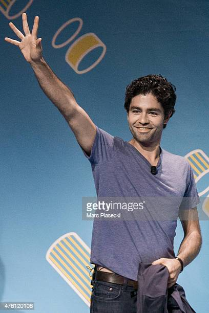 Actor Adrian Grenier attends the 'Cannes Lions Festival' on June 22 2015 in Cannes France