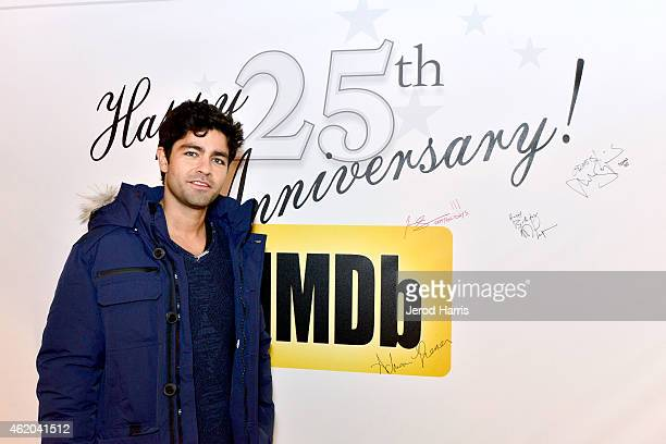 Actor Adrian Grenier attends the IMDb Amazon Instant Video Studio at the village at the lift on January 23 2015 in Park City Utah