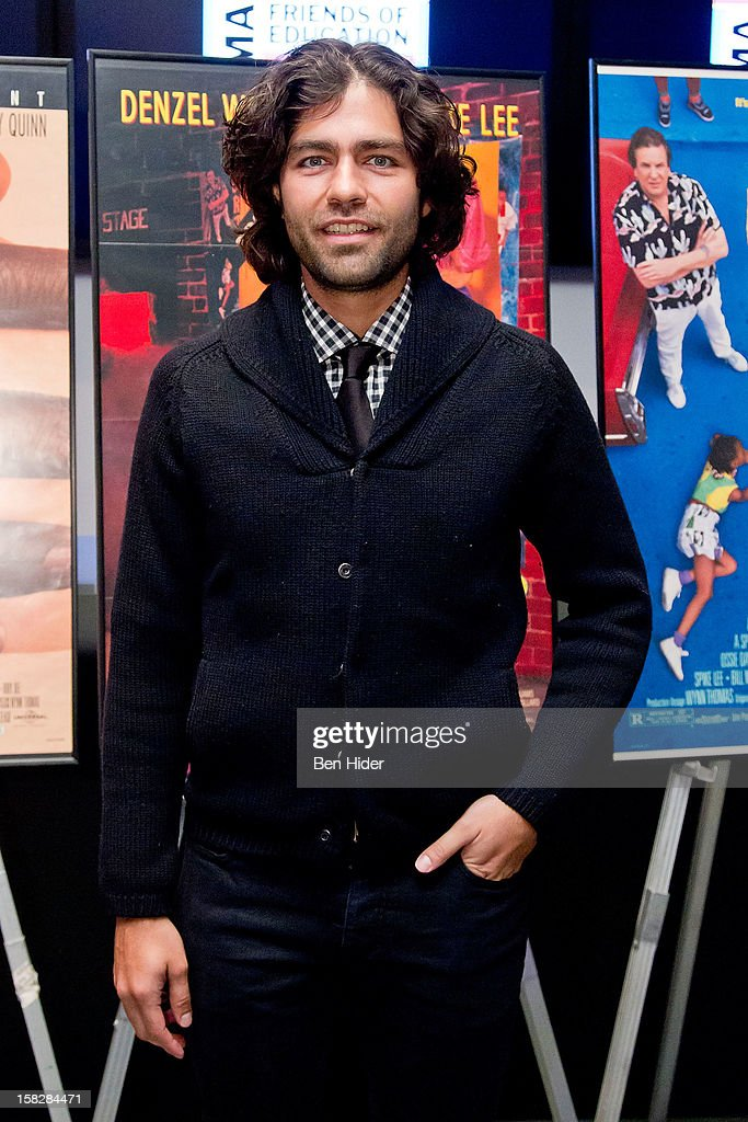 Actor Adrian Grenier attends The Museum of Modern Art's Jazz Interlude Gala at MOMA on December 12, 2012 in New York City.