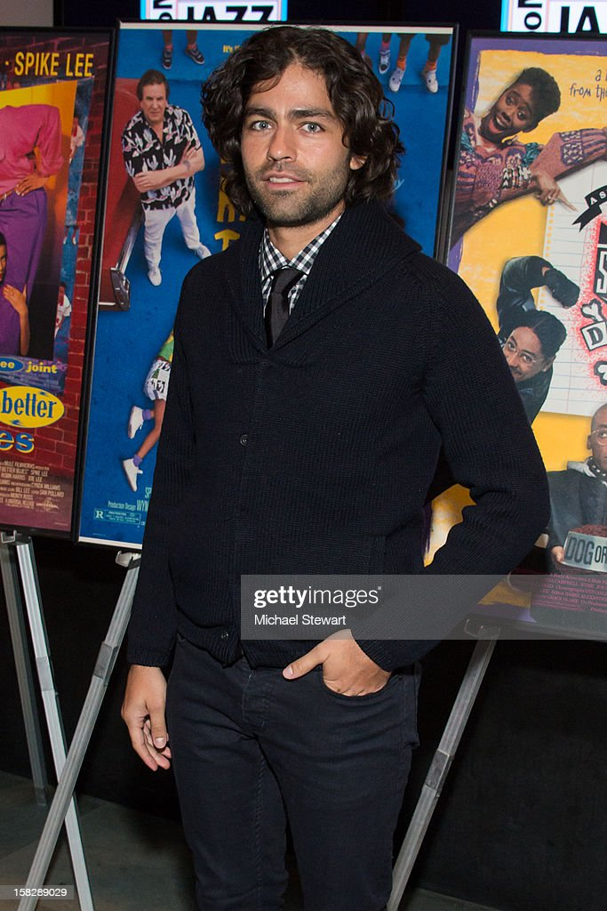 Actor <a gi-track='captionPersonalityLinkClicked' href=/galleries/search?phrase=Adrian+Grenier&family=editorial&specificpeople=211413 ng-click='$event.stopPropagation()'>Adrian Grenier</a> attends The Museum of Modern Art's Jazz Interlude Gala at Museum of Modern Art on December 12, 2012 in New York City.