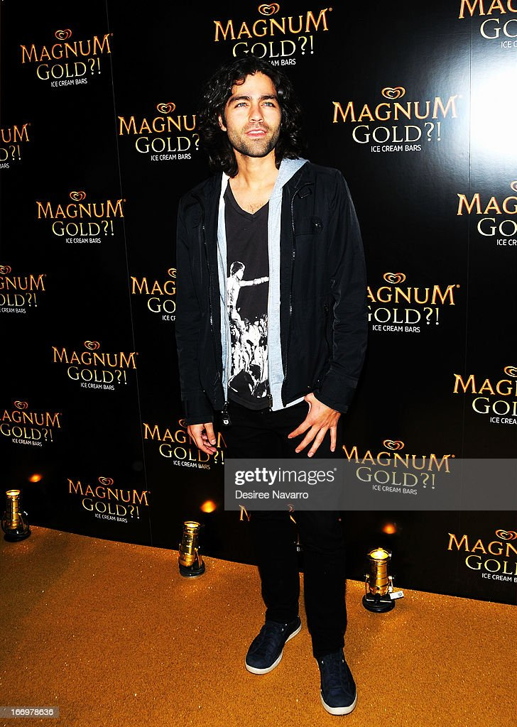 Actor <a gi-track='captionPersonalityLinkClicked' href=/galleries/search?phrase=Adrian+Grenier&family=editorial&specificpeople=211413 ng-click='$event.stopPropagation()'>Adrian Grenier</a> attends the screening of 'As Good As Gold' during the 2013 Tribeca Film Festival at Gotham Hall on April 18, 2013 in New York City.