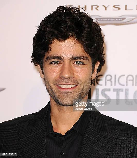 Actor Adrian Grenier attends the Vanity Fair Campaign Hollywood 'American Hustle' toast at Ago Restaurant on February 27 2014 in West Hollywood...